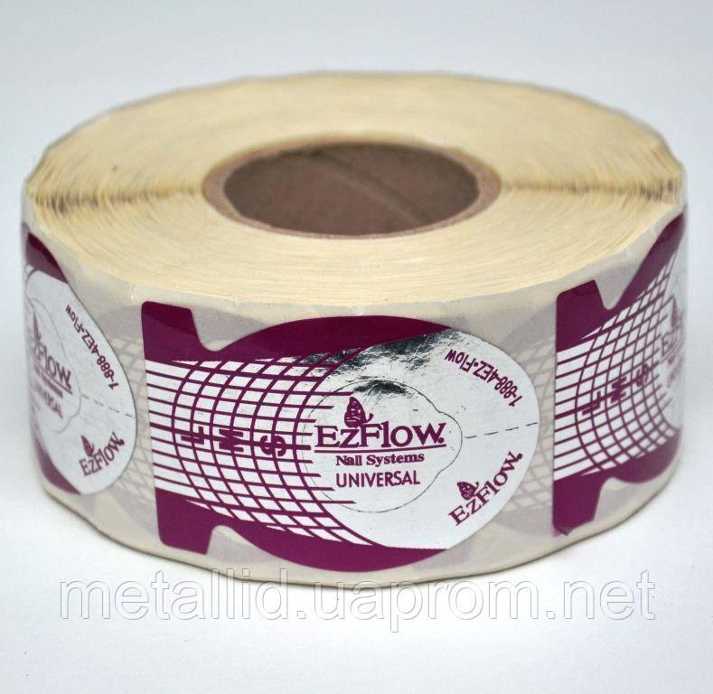 Формы для наращивания ногтей Ez Flow фиолетовые (500 шт)