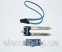 Датчик влажности почвы (гигрометр) для Arduino