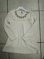 Кофта, нарядная туника для девочки с ожерельем