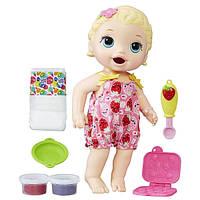 BABY ALIVE Кукла Лилу вместе с едой Lily Super Snacks