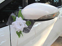 Украшение на зеркала свадебного автомобиля (арт. CDM-1)