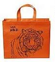 Эко-сумка  с замочком Тигр (спанбонд)32*29*8