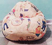Кресло мешок груша The Simpsons (размер XL)