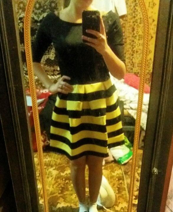 """Милое платье """"Пчёлка"""""""