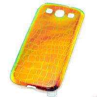Чехол силиконовый Dekkin Snake Samsung S3 i9300 хамелеон Green