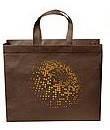 Эко сумка  хозяйственная с замочком сфера (спанбонд)