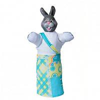 Кукла-рукавичка 'ЗАЯЦ' (пластизоль, ткань) (В077)