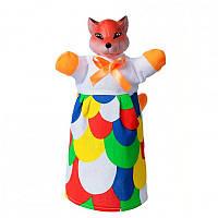 Кукла-рукавичка 'ЛИСА' (пластизоль, ткань) (В078)