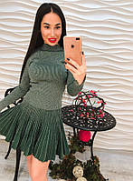 Стильный женский костюм с люрексом юбка и кофта тренд 2017!!!