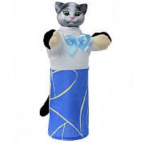 Кукла-рукавичка 'КОШКА' (пластизоль, ткань) (В081)