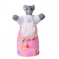 Кукла-рукавичка 'МЫШКА' (пластизоль, ткань) (В082)