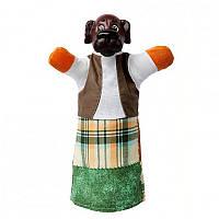 Кукла-рукавичка 'СОБАЧКА' (пластизоль, ткань) (В083)