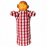 Кукла-рукавичка 'КОЛОБОК' (пластизоль, ткань) (В079)