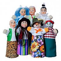 Кукольный театр 'БУРАТИНО' (премиум упаковка, 7 персонажей, книжка) (В182)