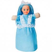 Кукла-рукавичка 'МАЛЬВИНА' (пластизоль, ткань) (В186)
