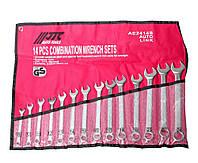 Набор ключей комбинированных 8-24мм 14 предметов JTC AE2414S