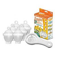 Формочки для варки яиц без скорлупы Eggies В комплект входит 6 контейнеров для варки яиц