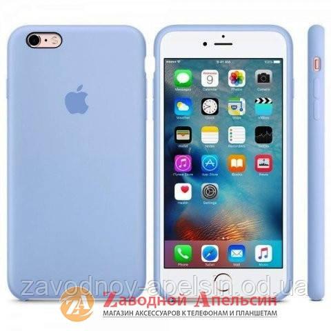 IPhone 6 6s чехол Silicone Case Mist blue - Zаводной Апельсин в Одессе 35eaf7a0d600f