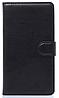 Кожаный чехол-книжка для  Lenovo S8/S898T черный