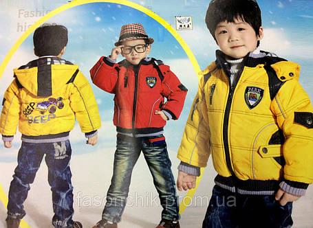 Куртка демисезонная машинка, фото 2