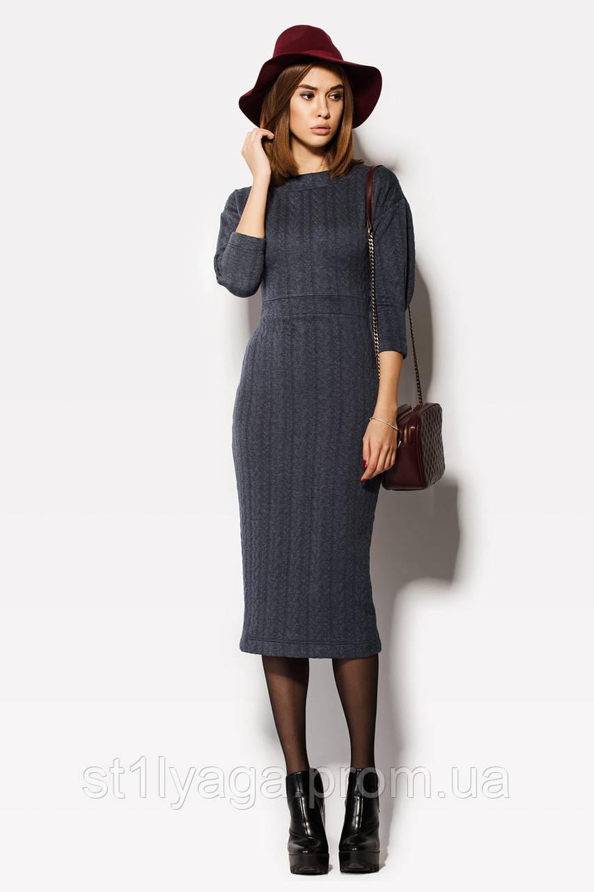 """Платье """"ERDEM"""" джинс осень-зима"""