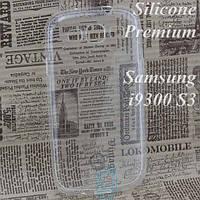 Чехол силиконовый Premium Samsung S3 i9300 прозрачный