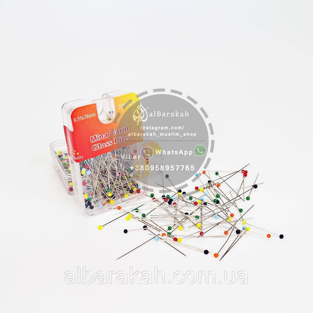 Разноцветные иголки 200 шт