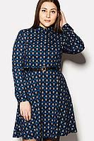 """Платье """"NUAR"""" синее зима, фото 1"""