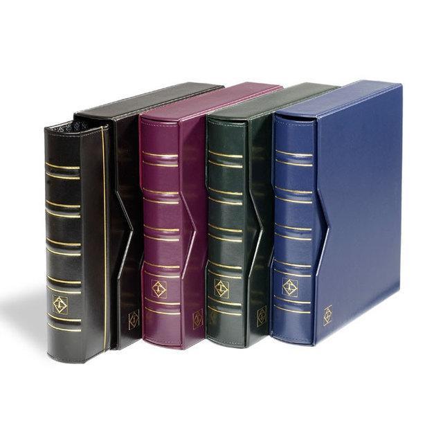 Альбом c футляром  для монет и банкнот OPTIMA LEUCHTTURM 1063 ячейки