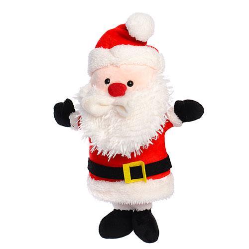 Мягкая игрушка MP 1451 (36шт) Санта Клаус, размер средний, 20см