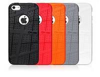 Чехол для iPhone 5/5S - Ou.case Leisure TPU shell, разные цвета