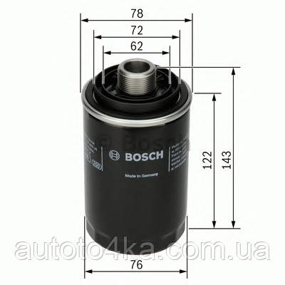 Масляный фильтр AutoMega 180039510