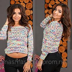 Женский свитер - вязка, Турция, 0011