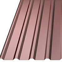 Профилированный настил Китай цветной с полимерным покрытием грн лянец Пс 20 0.4 мм