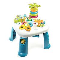Детский игровой стол Cotoons Цветочек с синими ножками, Smoby (211169)