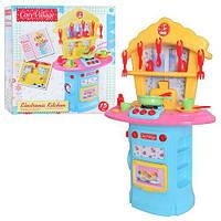 Детская кухня 1680380 кухонные принадлежности духовка тостер звук свет