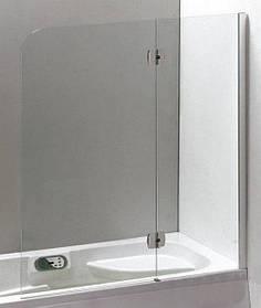 Распашная шторка для ванны Eger (599-120CH/R)