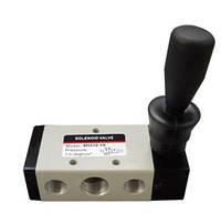 Пневматический распределитель с ручным управлением типа 4Н210