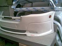 Спортивный бампер (накладка) LED на Volkswagen Crafter