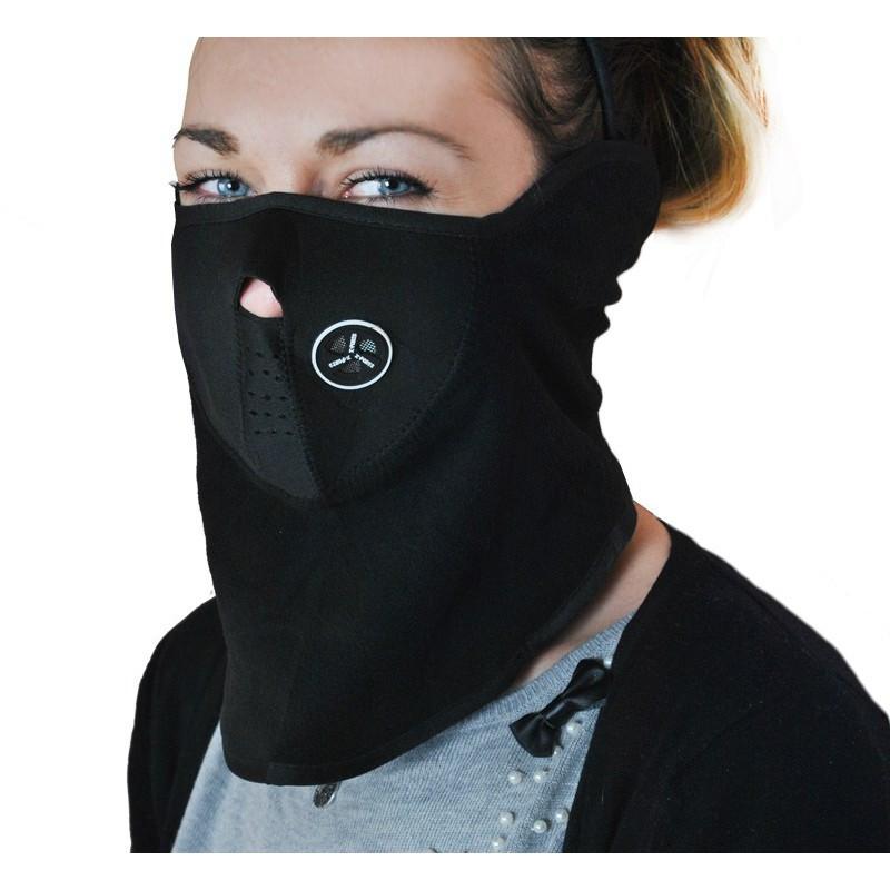 Термо маска, балаклава на велосипед, лижі, сноуборд. Неопрен-фліс