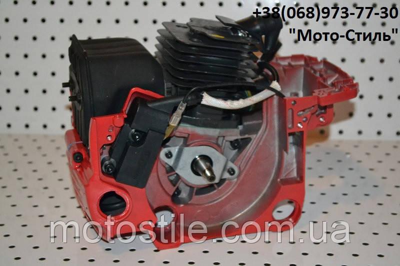Двигатель в сборе d-45мм бензопил GoodLuck 4500/5200, фото 1