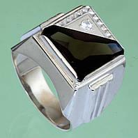 Срібний перстень з кварцем та цирконом