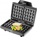 Вафельница тостер квадрат формы 800 ватт  LSU-1214