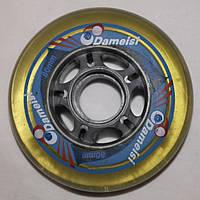 Колесо(Колёса) для Роликов Dameisi PU 80мм82A полупрозрачное качественное полиуретан