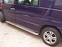 Mercedes Vito W638 Боковые пороги Deluxe d60