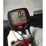 Вело комп'ютер спідометр, одометр годинник 15в1 MBI-67, фото 4