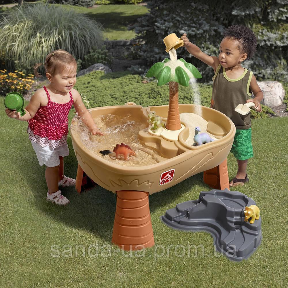 """Стол для игры с песком и водой """"DINO DIG"""", 76,2х75х84 см"""