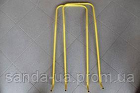 Ручка-толкатель Желтая для санок