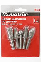 Набор шарошек MTX 70499 (5 шт.)