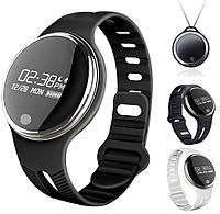 Фитнес-браслет, смарт часы Makibes E07 черный браслет, фото 1